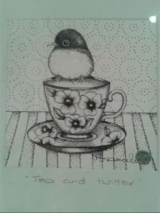 Tea and Twitter  by Belinda Northcote small
