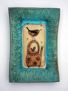 Tea & Twitter ceramics Diane McCormick @ Etain Hickey collections small