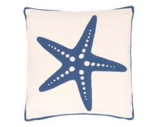 N28 Starfish Denim Cushion_£75